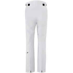 Maier Sports Vroni Slim Pantalon Stretch mTex Femme, white